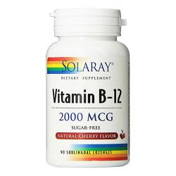 Vitamina B12 2000mcg (90 comp. SUBLINGUALES)