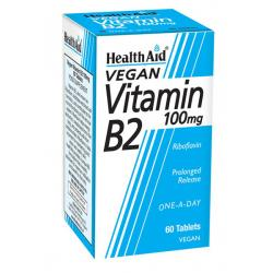Vitamina B2 - Riboflavina 100mg (60comp)