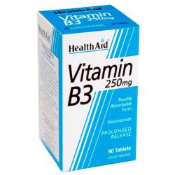 Vitamina B3 - Niacinamida 250mg (90comp)