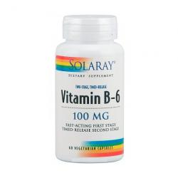 Vitamina B6 100mg (60 caps. vegetales)