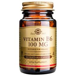 Vitamina B6-Piridoxina 100mg (100caps)