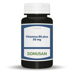 Vitamina B6 Plus 50mg (60caps)