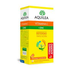 VITAMINA C + ZINC DEFENSAS TRIPLE ACCIÓN (28COMP. EFERVESCENTE) FORMATO AHORRO