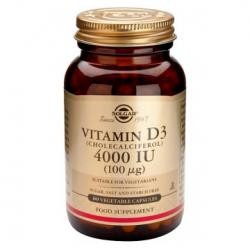 Vitamina D3 4000UI (60caps)