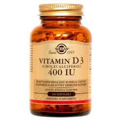 Vitamina D3 400UI-10mg (100caps)