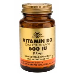 Vitamina D3  600UI (60caps)