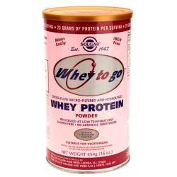 Whey to Go Fresa (454g)
