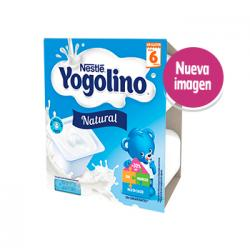 Yogolino Natural 6M (4x100g)