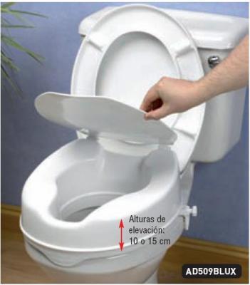 Ayudas din micas ad509alux elevador wc econ mico con for Elevador taza wc
