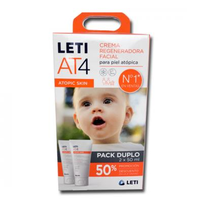 AT4 Crema Facial PACK ( 2 UNIDADES x 50ml)