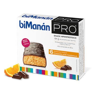 Barritas de Chocolate Naranja (6uds)