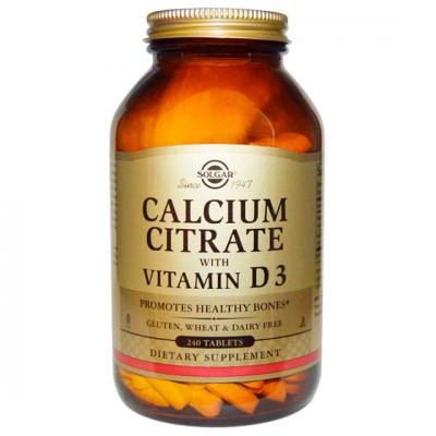 Calcio Citrato con Vitamina D3 (240comp)