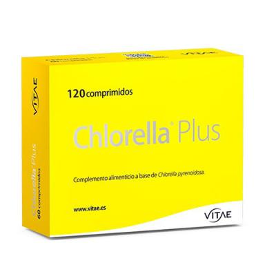 Chlorella Plus con Zinc (120caps)
