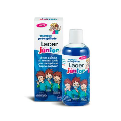 Enjuague pre-cepillado Lacer Júnior (500ml)