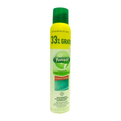 FUNSOL Spray Olor de Pies 150ml + 50ml REGALO!