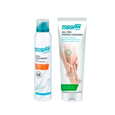 GEL FRIO PIERNAS CANSADAS (200ml) + Spray Desodorante Regalo