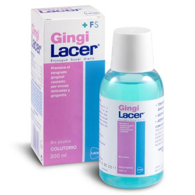 Gingi Lacer Colutorio Sin Alcohol (200ml)