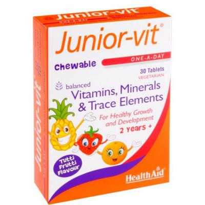 Junior-Vit Masticable (30comp)