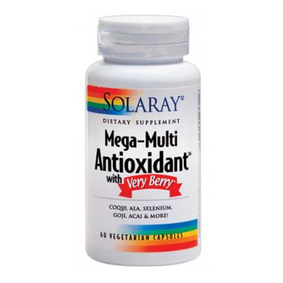 Mega-Multi Antioxidant with Very Berry (60 vegcaps)
