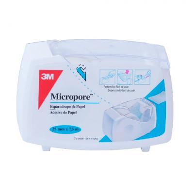 3m Micropore Blanco 7 5m X 2 5cms Farmacia Online