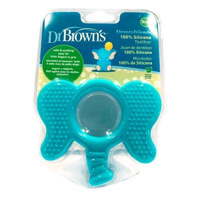 Browns Flexees color azul Mordedor con forma de aro Dr