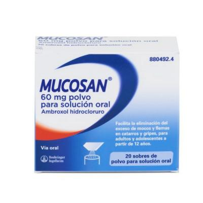 MUCOSAN 60mg Oral (20 sobres)
