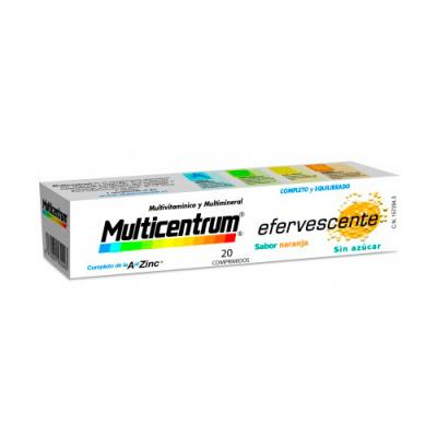 MULTICENTRUM Efervescente (20comp. EFERVESCENTES)