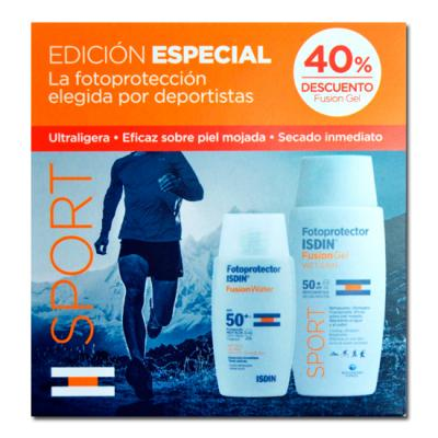 PACK SPORT FUSION SPF50+ GEL fusion (100ml) + Gel WET SKIN (50ml)	REGALO!