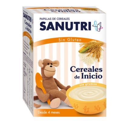 Sanutri papilla cereales de inicio sin gluten 600g farmacia online farmacia soler - Cereales sin gluten bebe 3 meses ...