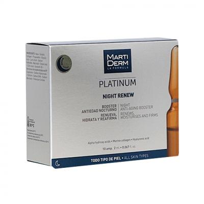 Platinum Night Renew (10 ampollas)