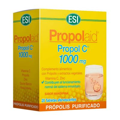 Propolaid Propol C Frizz 1.000mg (20comp. Efervescentes)