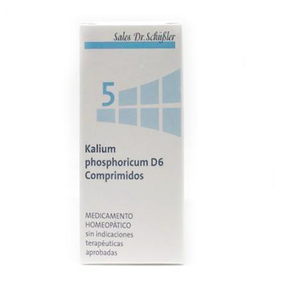 Comprar Sales De Schussler Sal Schüssler Nº5 Kalium Phosphoricum 80comp La Sal De La Mente Y El Sistema Nervioso A Precio Online