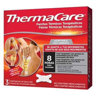 ThermaCare® ADAPTABLE PARCHES TÉRMICOS (3 PARCHES)