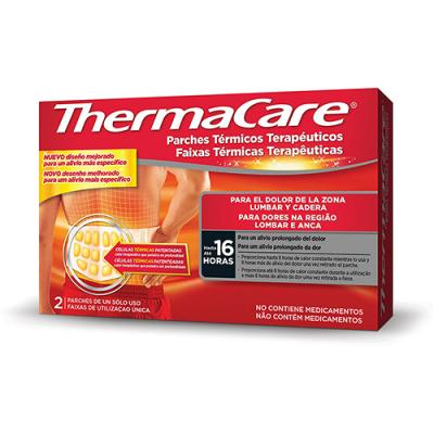 ThermaCare® PARCHES ZONA LUMBAR Y CADERA  (2 Parches)