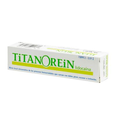 cremas que contengan lidocaina