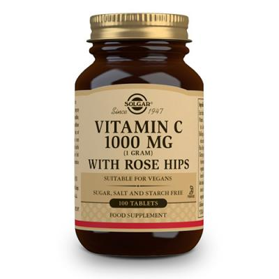 Vit.C con Escaramujo-Rose Hips (1000mg)