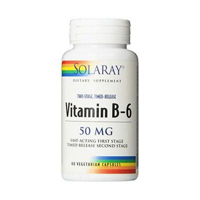 Vitamina B6 50mg (60 caps. vegetales)