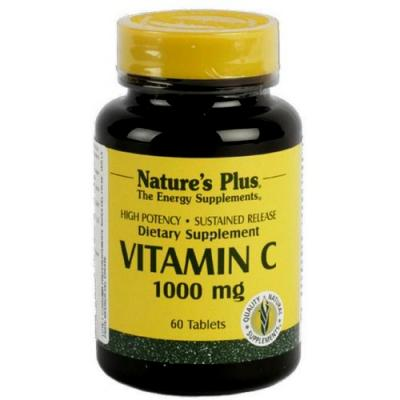 Vitamina C 1000mg + Escaramujo (60comp)