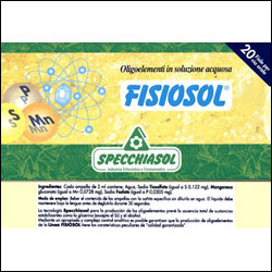 Fisiosol ALL (S-Mn-P) 20 amp.