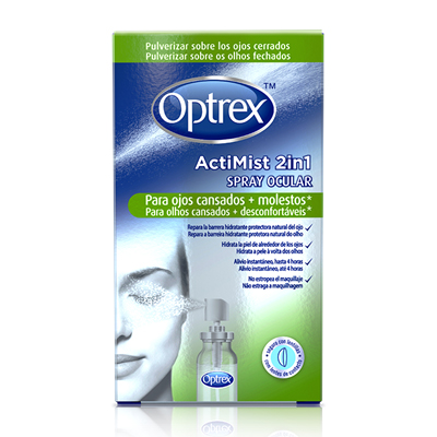 ActiMist Spray 2 en 1 Ojos Cansados (10ml)