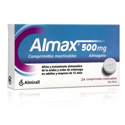 ALMAX 500mg (24 comp. masticables)
