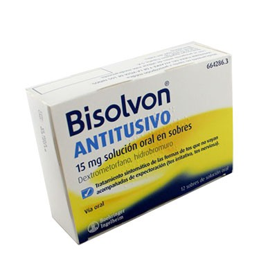BISOLVON ANTITUSIVO 15mg (12 Sobres Oral)
