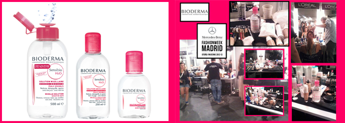 BIODERMA en la Mercedes Fashion Week 2012 Madrid