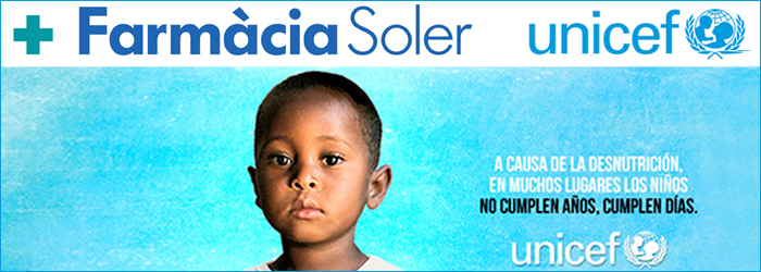 FARMACIA SOLER A FAVOR DE UNICEF
