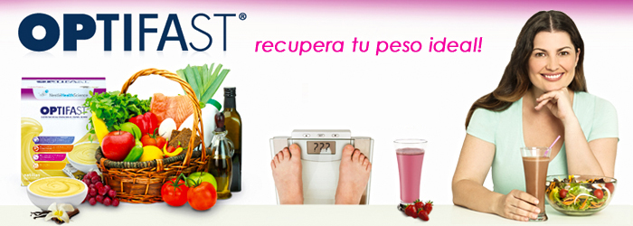 OPTIFAST, te ayuda a recuperar tu peso ideal