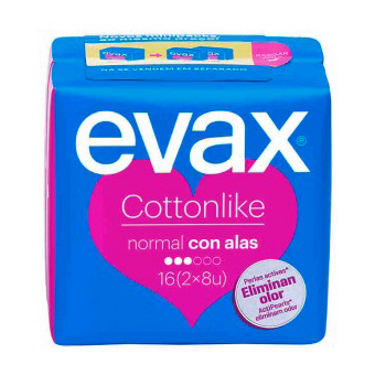 Evax Cottonlike Alas Normal (16uds)