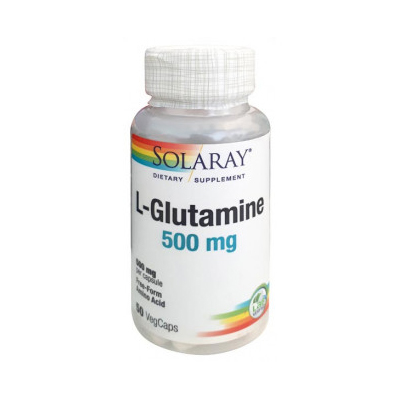 L-Glutamina 500mg (50 vegcaps)
