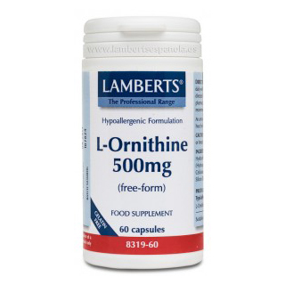 L-Ornitina 500mg (60caps)