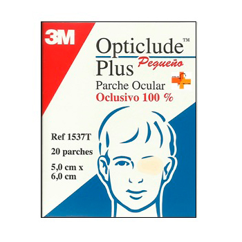 Opticlude Plus Pequeño 5 x 6cm (20uds)