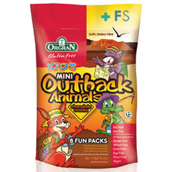 Galletas de Chocolate Multipack Outback Animals (175g)